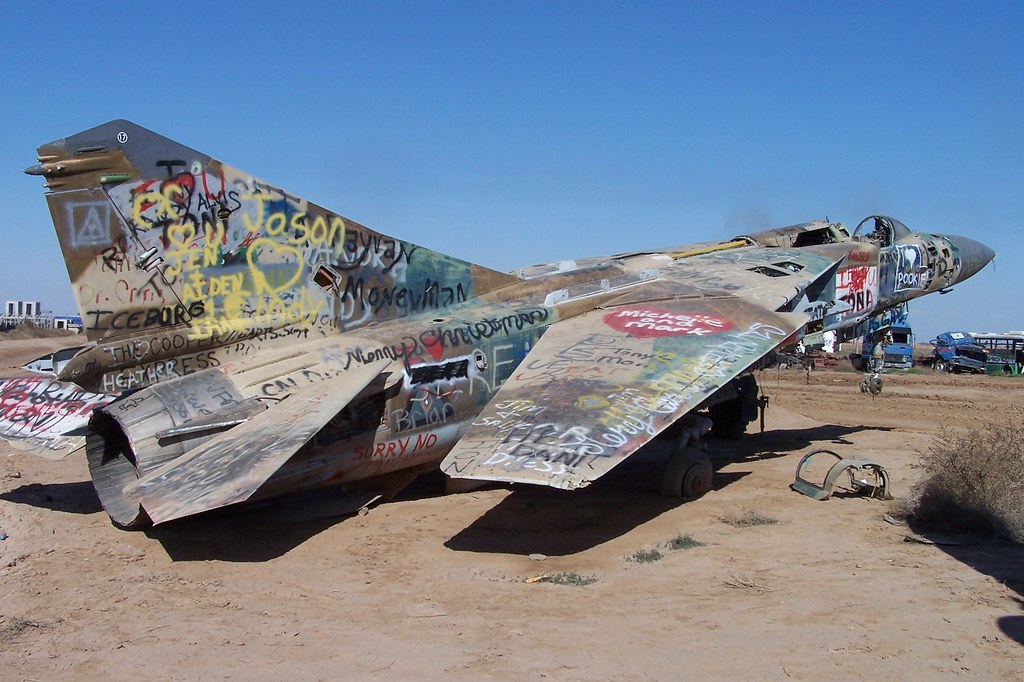 Iraqi Air Force MiG 23 Joint