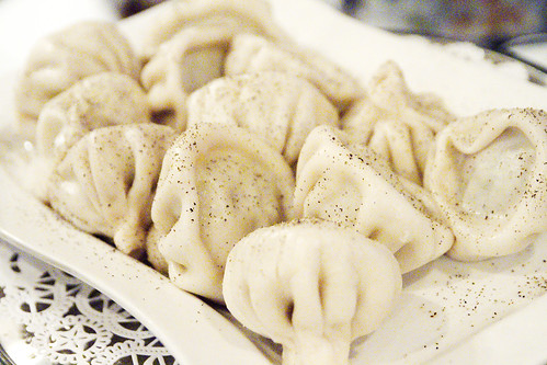 """Khinkali"" Georgian dumplings"