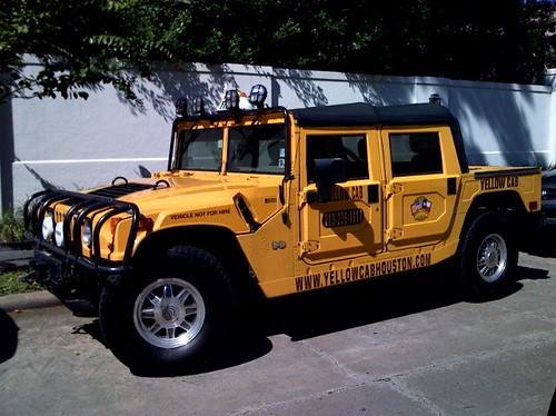 Yes, that is a Hummer Taxi - only in Texas | by ryoo