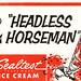 Sealtest Ice Cream Headless Horseman Soda Jerk Hat