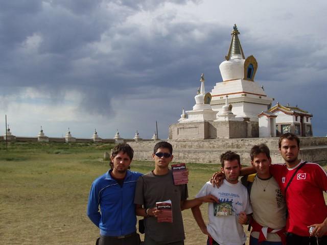 Menudo viaje el que hicimos a Mongolia