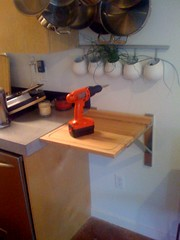 New shelf/cutting board thing | by TenSafeFrogs