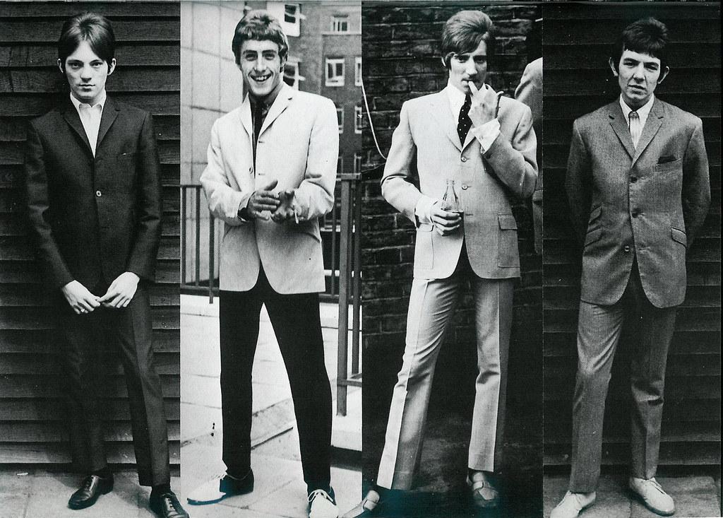 The Faces L R Steve Marriott Small Faces Roger Daltrey