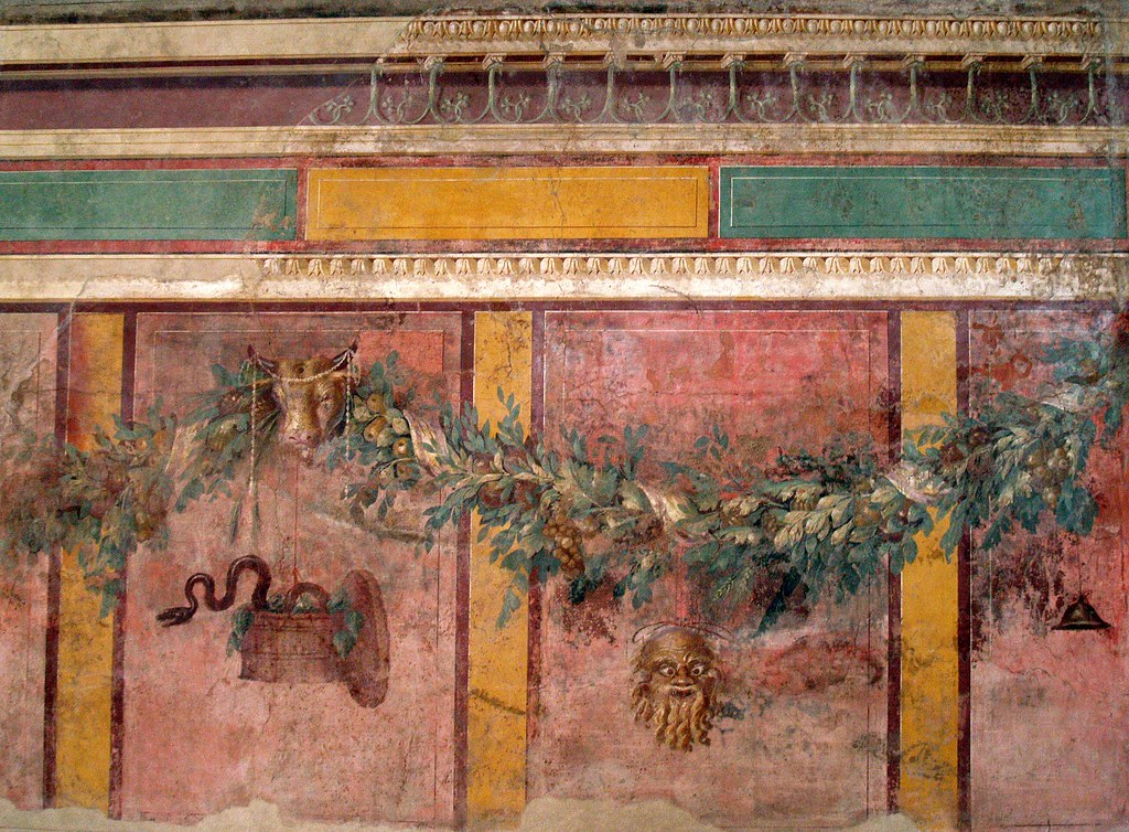 Roman Wall Painting Metropolitan Museum of Art - New York | Flickr