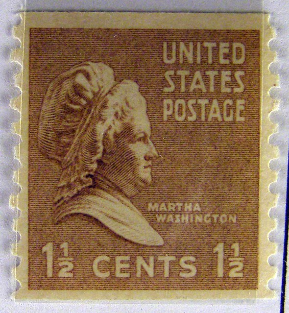 Us Stamps 085 Martha Washington On The 1 And 1 2 Cent Sta Flickr
