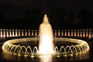 World War II Memorial in Washington DC - at night | by meironke