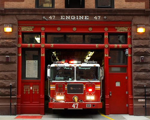 E047 Fdny Firehouse Engine 47 Morningside Heights New Yo