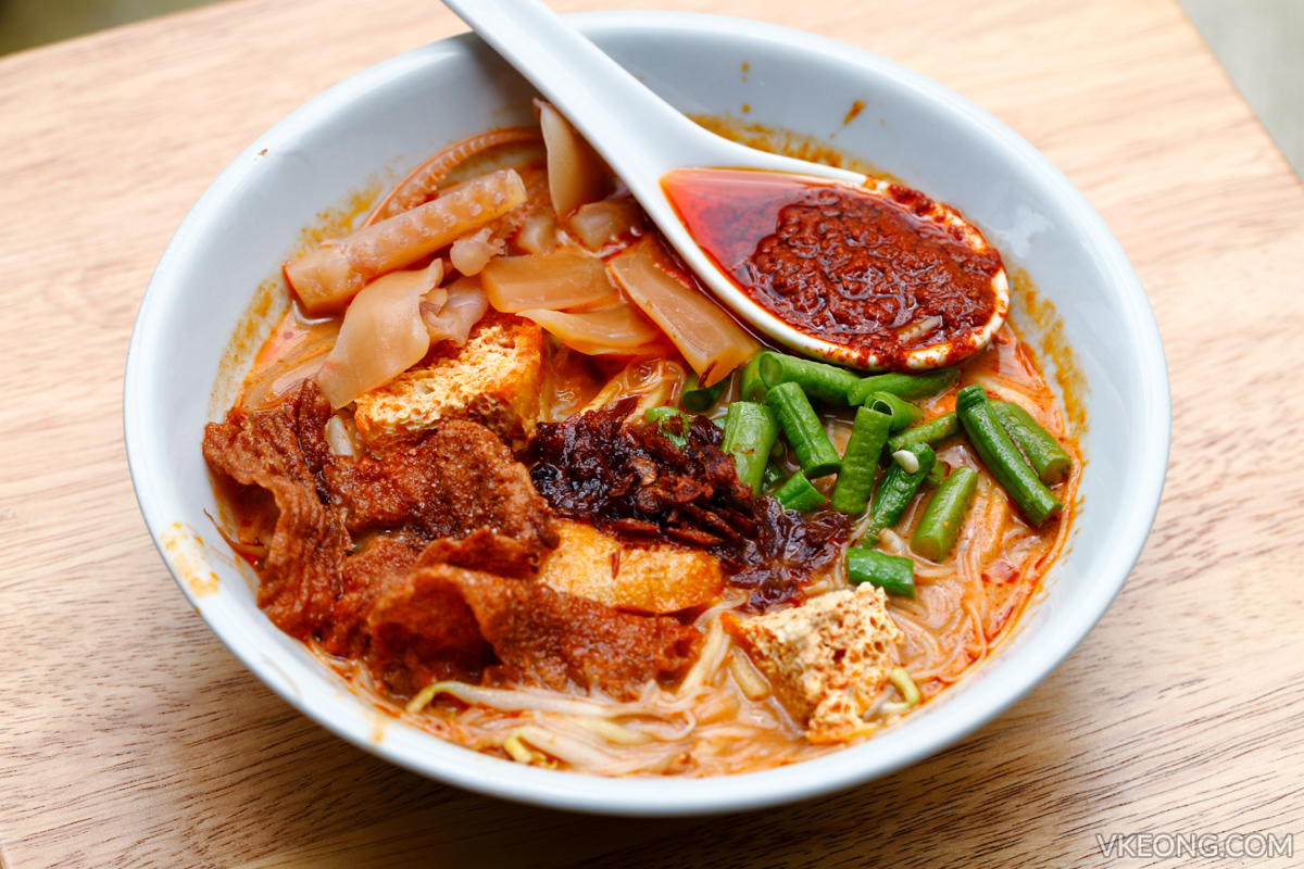 MakeMake Cafe Penang Curry Mee