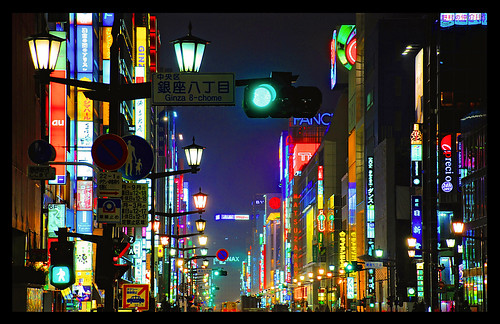 Ginza in full colour | by stu72
