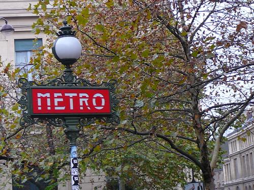 Paris Metro - Odeon (St. Germain)