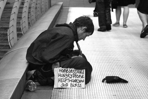 Image result for homeless and hungry