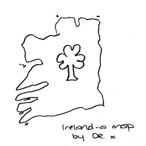 Ireland, by Deirdre | I asked Deirdre to draw a map of Irela… | Flickr