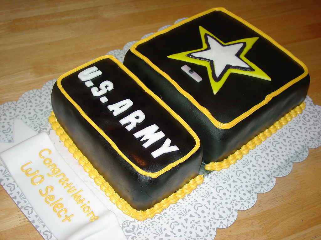 u s army wo select welcome home cake charley salas sbcglo flickr
