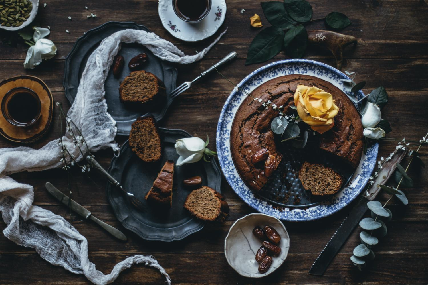 Finnish Date & Coffee Bundt Cake | Lab Noon by Saghar Setareh-22