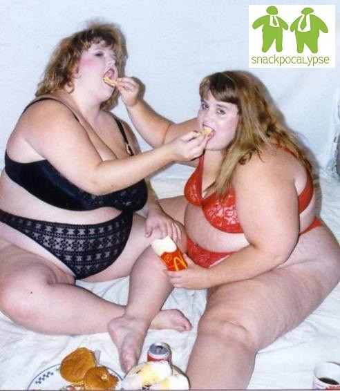 Confirm. Fat girls that are eating consider