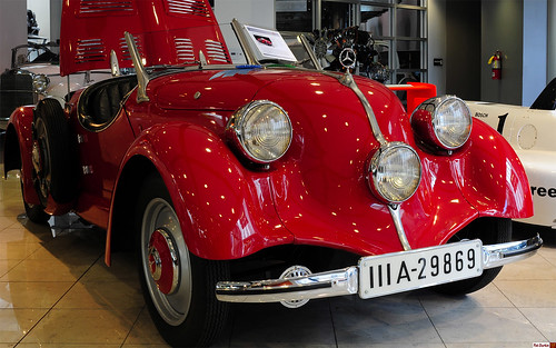 1934 Mercedes Benz 150 Sport Roadster Red Fvr Please