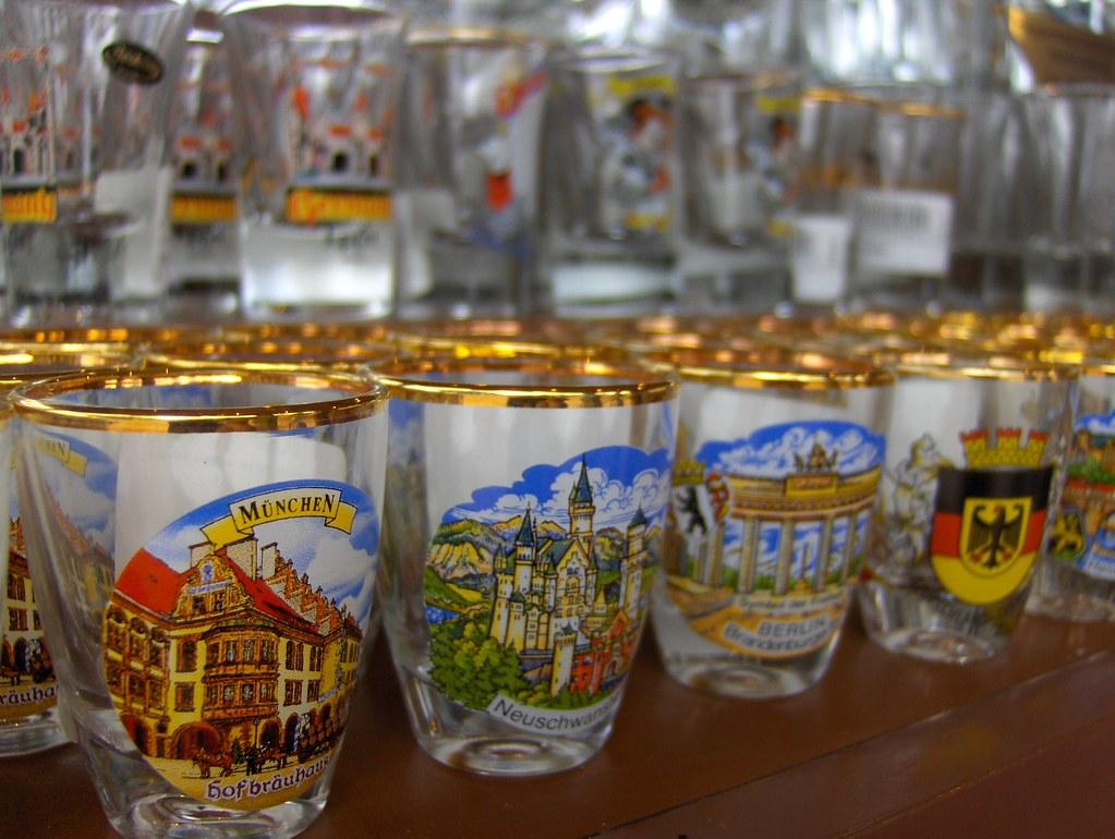 Shot Glasses | Shot glasses for sale at Epcot's Germany ...