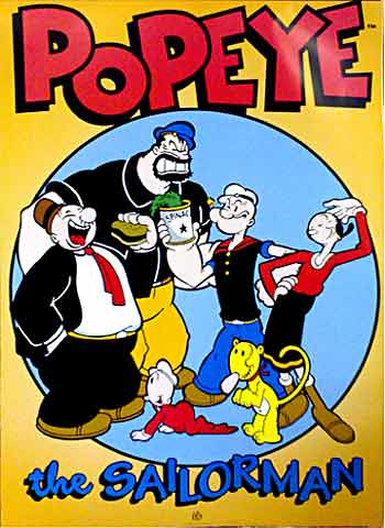 Popeye the Sailorman - Characters - Poster | Firstposter ...