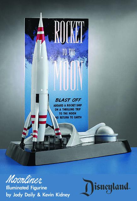 disneyland twa rocket to the moon lamp