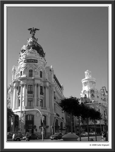 Madrid en blanco y negro julioalba59 flickr - Laminas y posters madrid ...