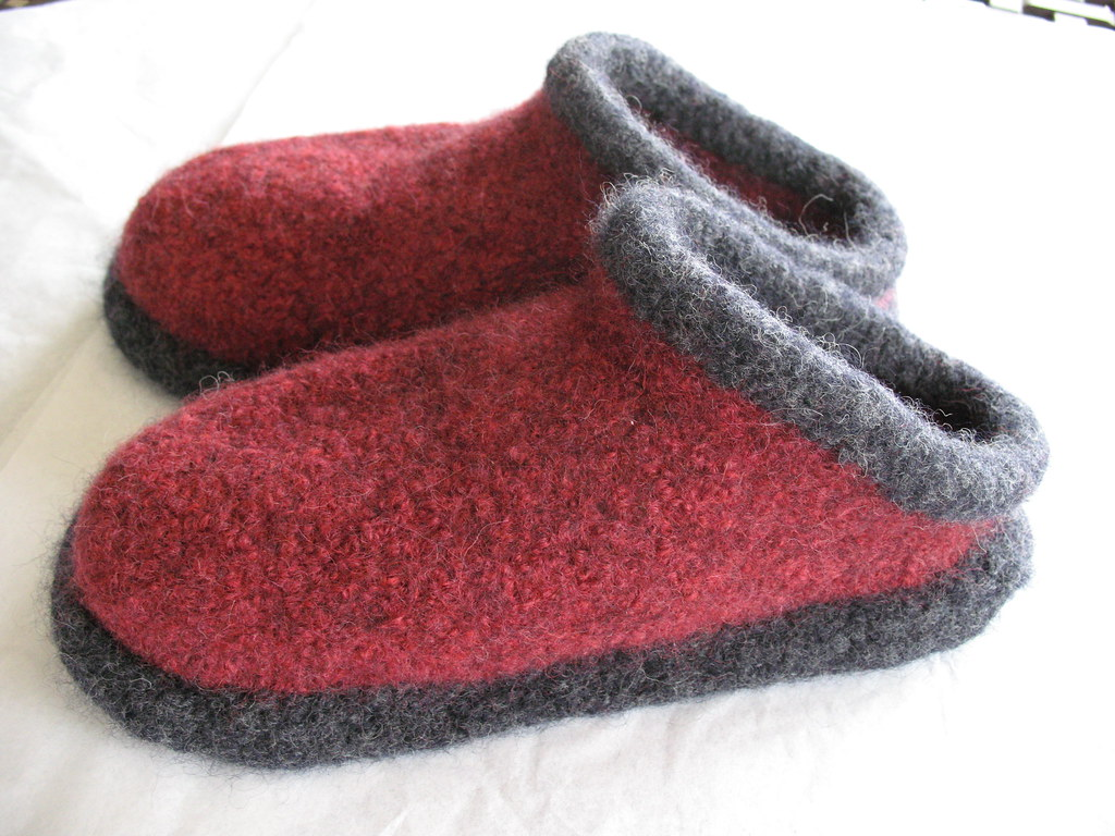 Fiber Trends Felted Clogs Pattern Fiber Trends Felted