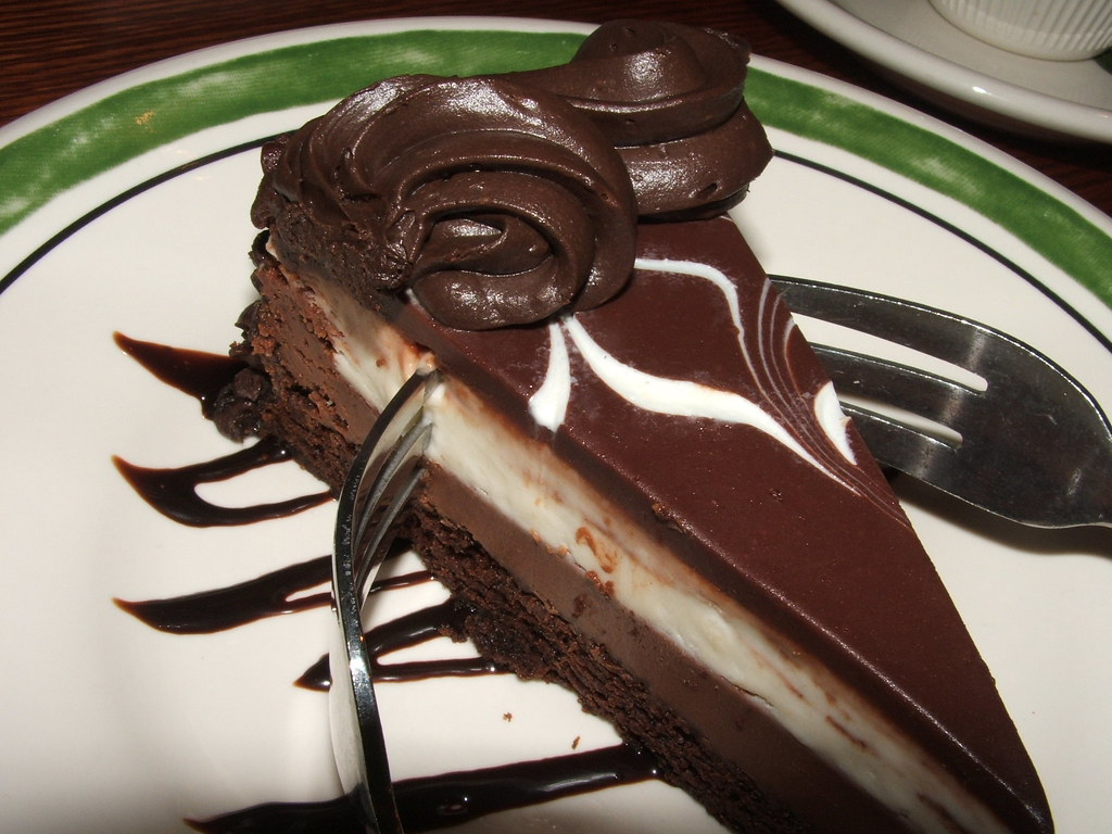 black tie mousse cake up the olive garden can be