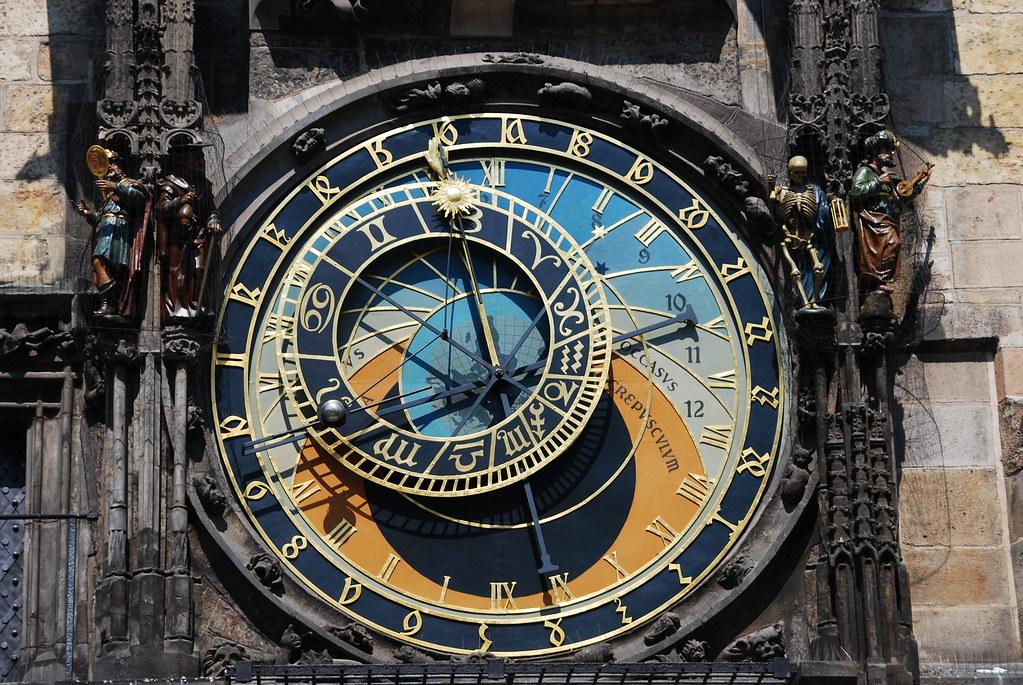 Prazsky Orloj The Prague Astronomical Clock Or Prague