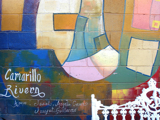 Mural en el cobach 28 m xico 2603 flickr photo sharing for Mural prepa 1 uaemex
