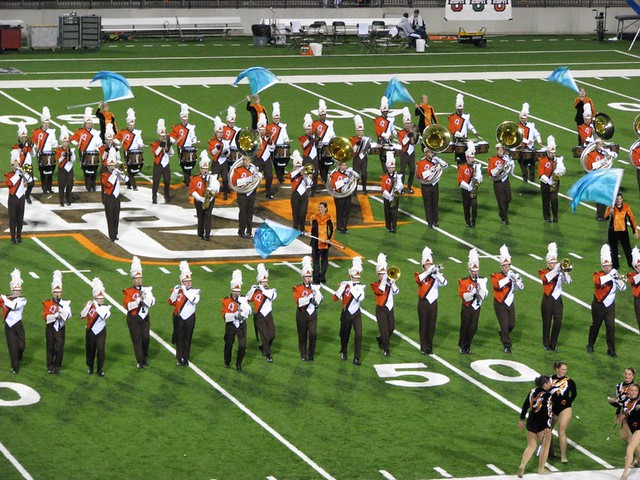 Bowling Green State University Falcon Marching Band Flickr