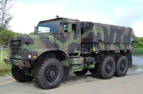 MTVR #1 | Marine Corps 7 Ton, 6x6 Cat C12 6 Cylinder, 1500 ...