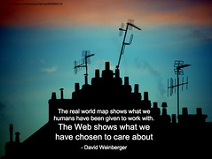 web shows what we have chosen to care about | by lynetter