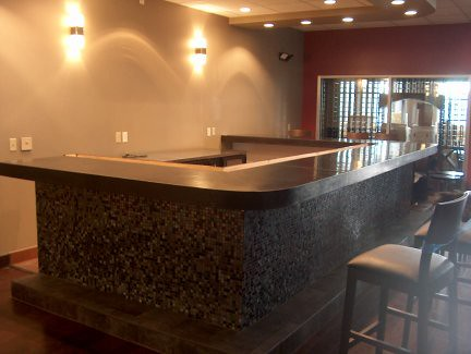 ... Concrete Bar Top   Starry Night (Black)   By Dcsurfaces