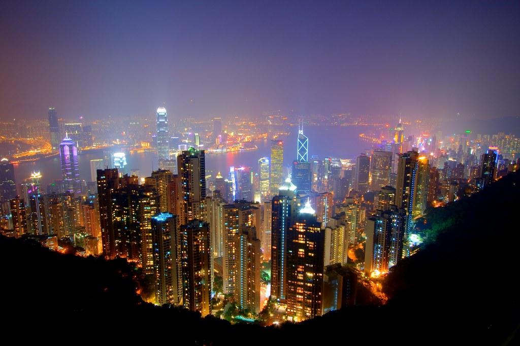 Victoria Harbor From Victoria Peak Hong Kong Sar Flickr