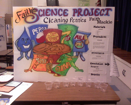 easy science fair projects for 8th grade But if you are in a jam and just need something and a decent grade, then this project might help: science fair easy one day science fair projects, easy.