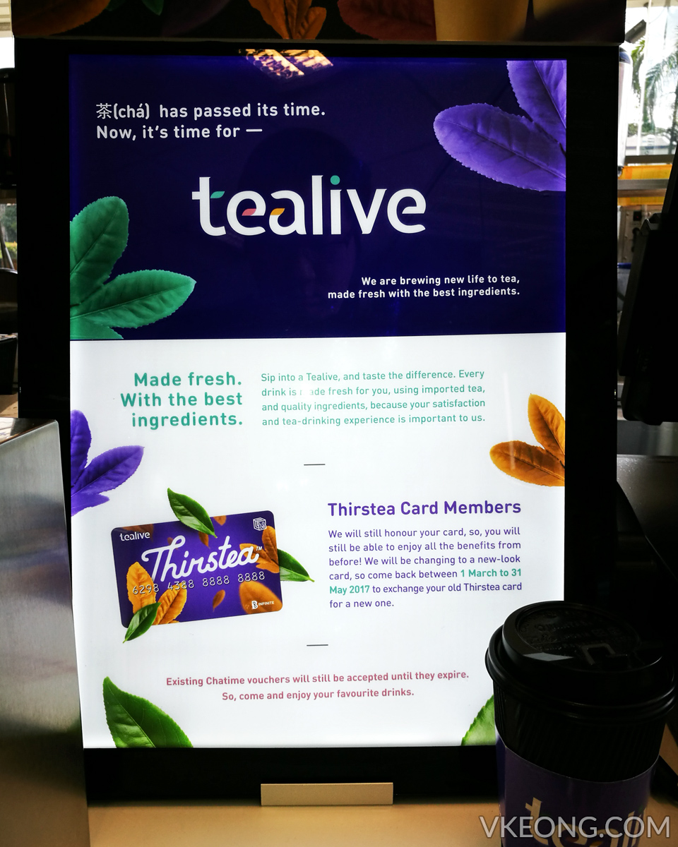 tealive thirstea card