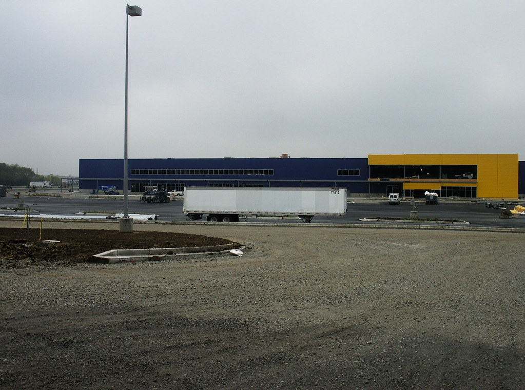 Ikea west chester ohio all the yellow is done flickr for Ikea in west chester ohio