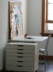 desk in new corner | by Laurie | Liquid Paper