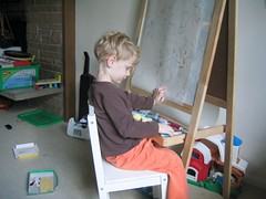 At the Easel | by Matthew Baldwin