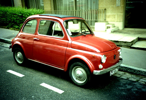 fiat 500 ma premi re fiat 500 une 110f de 1972 gar e rue flickr. Black Bedroom Furniture Sets. Home Design Ideas