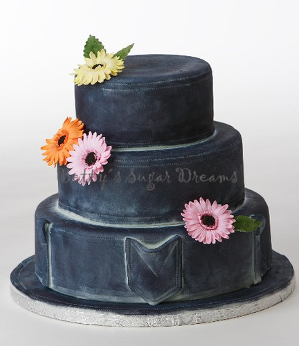 Denim Denim Wedding Cake Bettina Schliephake Burchardt