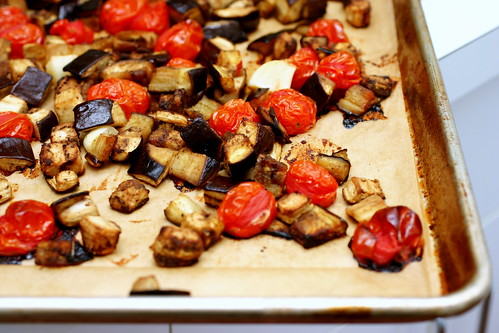 roasted eggplant, tomatoes | by smitten kitchen