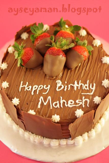 Happy Birthday Mahesh Cake