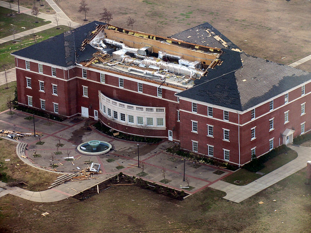 Tornado Damage At Union University Officials Said Only