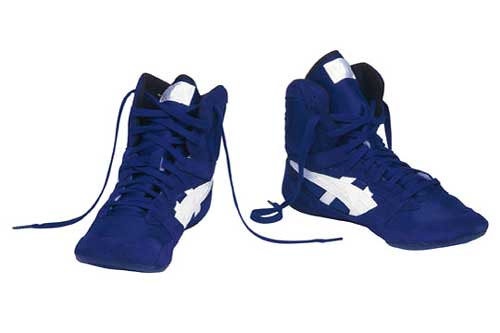 Blue Wrestling Shoes | Breaking in new wrestling shoes | Thomas M ...