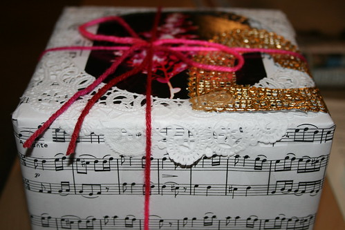 Stef's Present with Handmade Wrapping | by ex.libris