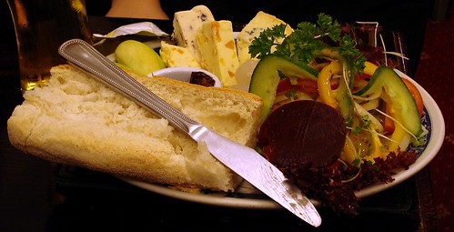 Ploughmans platter at the Nightingale, Wanstead, London E11 | by Kake .