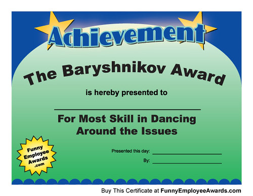 Fun Award Certificates | There is someone at every office ...