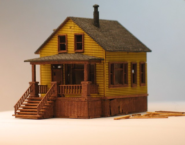 Miniature Zscale Billy's house from Polar Express | animek | Flickr