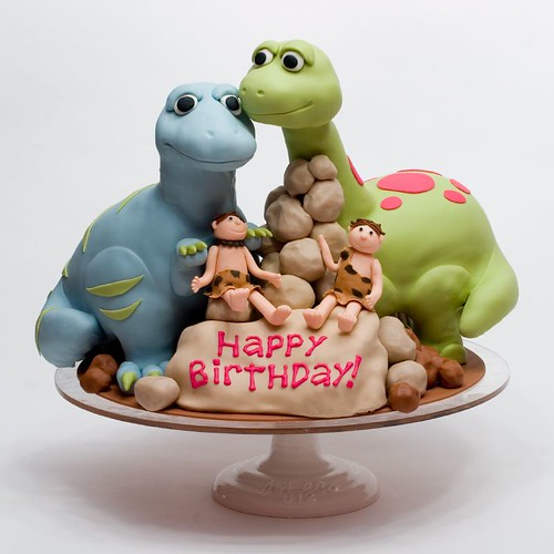 How To Make Dinosaur Fondant Cake Toppers