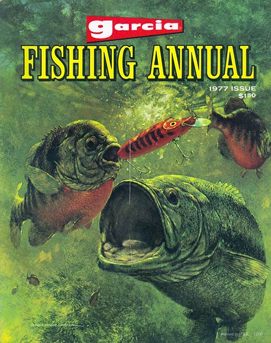Annual 1977 garcia annual fishing guide and catalog flickr for Free fishing catalogs